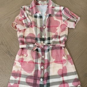 Burberry Kids Belted Dress